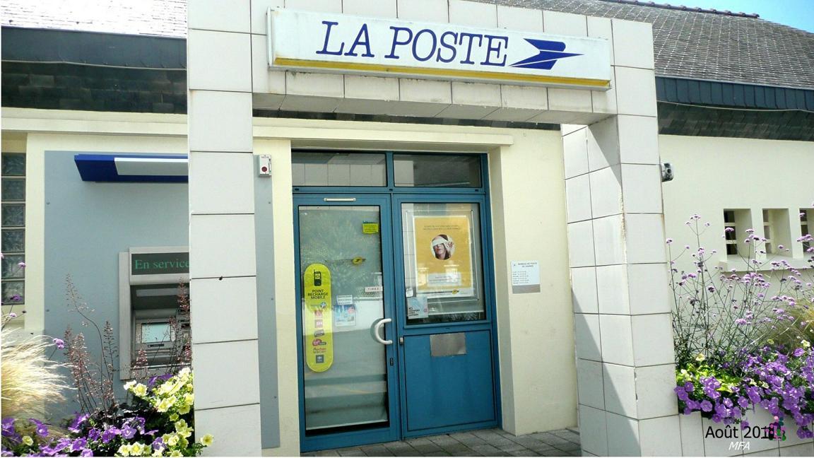 Nouveaux horaires du bureau de poste presqu île de g vres